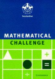Cover of: Mathematical challenge