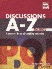 Cover of: Discussions A-Z Advanced Teacher's book