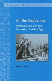 All the pasha's men by Khaled Fahmy