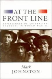 Cover of: At the Front Line