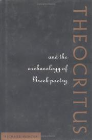 Cover of: Theocritus and the archaeology of Greek poetry
