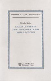 Cover of: Causes of growth and stagnation in the world economy