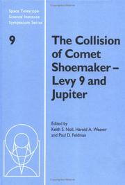 Cover of: The collision of Comet Shoemaker-Levy 9 and Jupiter