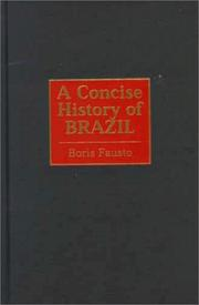 Cover of: A concise history of Brazil | Boris Fausto