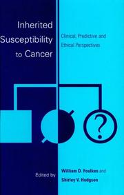 Cover of: Inherited susceptibility to cancer |