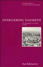 Cover of: Overlooking Nazareth