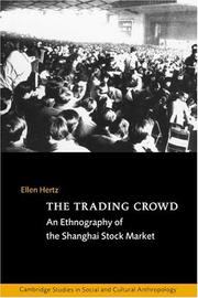 The Trading Crowd: An Ethnography of the Shanghai Stock Market