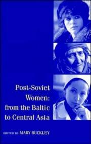 Post-Soviet Women by Mary Buckley