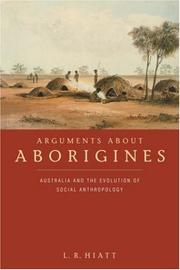 Cover of: Arguments about aborigines