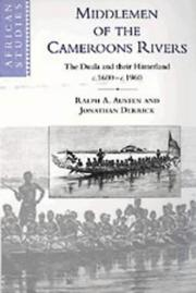 Cover of: Middlemen of the Cameroons Rivers
