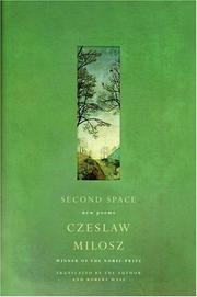 Cover of: Second Space: New Poems