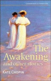 Cover of: The Awakening and Other Stories (Cambridge Literature)