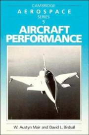 Cover of: Aircraft Performance (Cambridge Aerospace Series) | W. Austyn Mair
