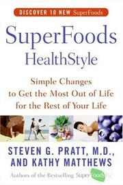 Cover of: SuperFoods HealthStyle