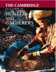 Cover of: The Cambridge encyclopedia of hunters and gatherers |