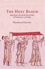 Cover of: The Holy Blood