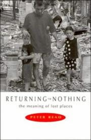 Cover of: Returning to Nothing