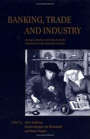 Cover of: Banking, trade, and industry