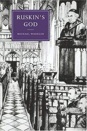Cover of: Ruskin's God