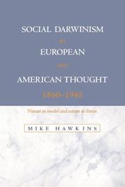 Cover of: Social Darwinism in European and American Thought, 18601945