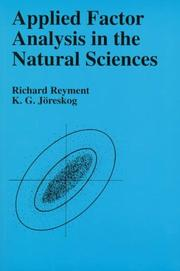 Applied Factor Analysis in the Natural Sciences by Richard A. Reyment, K. G. Jvreskog