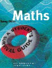Cover of: Maths | Jenny Olive