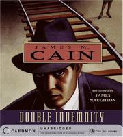 Cover of: Double Indemnity CD