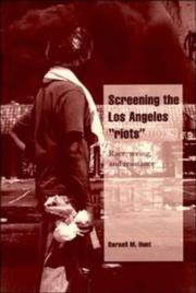 "Cover of: Screening the Los Angeles ""riots"""