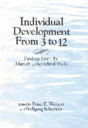 Cover of: Individual development from 3 to 12