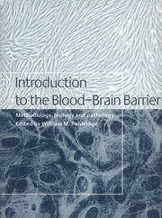 Cover of: Introduction to the blood-brain barrier |