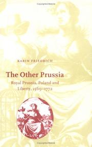 Cover of: The other Prussia | Karin Friedrich