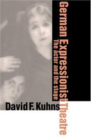 Cover of: German expressionist theatre