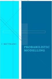 Cover of: Probabilistic modelling