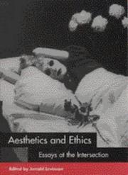 Cover of: Aesthetics and ethics