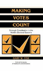 Cover of: Making votes count
