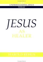 Cover of: Jesus as healer