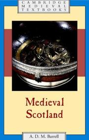 Cover of: Medieval Scotland
