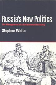 Cover of: Russia's New Politics | Stephen White