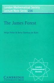 Cover of: The James forest