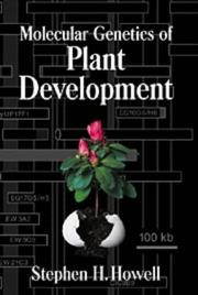 Cover of: Molecular genetics of plant development