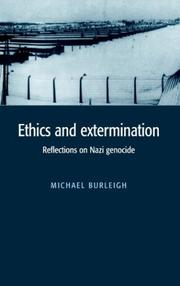 Cover of: Ethics and extermination: reflections on Nazi genocide