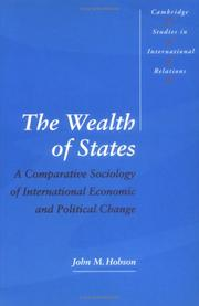 Cover of: The wealth of states