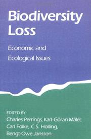 Cover of: Biodiversity Loss |
