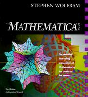 Cover of: The MATHEMATICA ® Book, Version 3