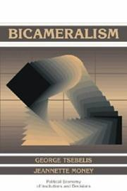Cover of: Bicameralism