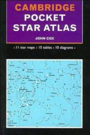 Cover of: Cambridge pocket star atlas | Cox, John