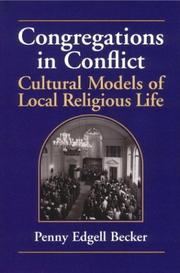Cover of: Congregations in conflict