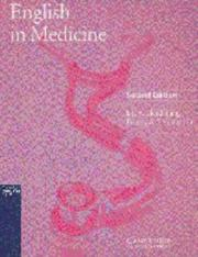 Cover of: English in Medicine Student's book by Eric H. Glendinning, Beverly Holmstrvm, Beverly A.S. Holmstrom