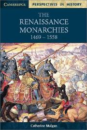 Cover of: Renaissance monarchies, 1469-1558