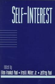 Cover of: Self-interest